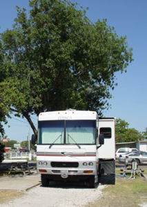Camp your RV at Colonia del Rey in Corpus Christi